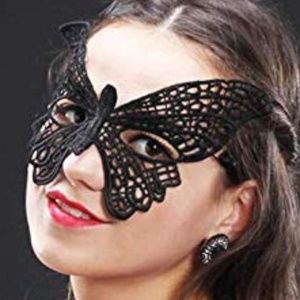 Fancy Black Lace Party Masquerade MASK